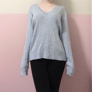 H&M Basics Cable-Knit Sweater